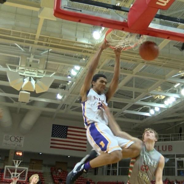 Bloomington Chris Payton dunk