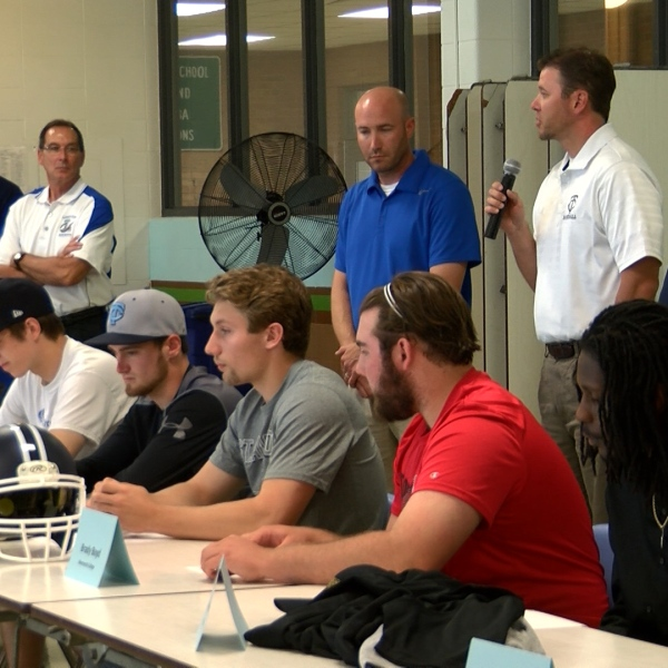 Limestone student-athletes sign (May 23)