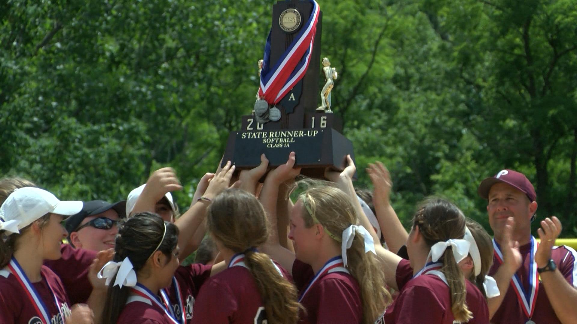 Princeville Softball Runner-up Trophy