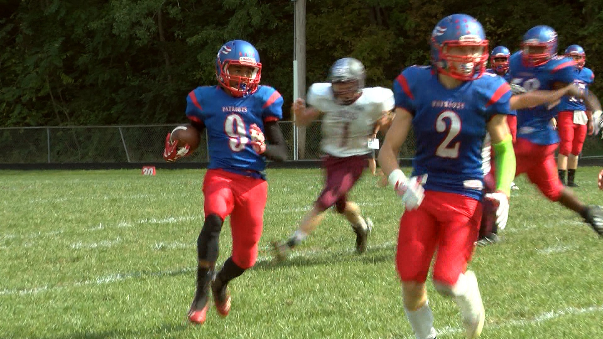 Peoria Heights-Quest WR Ryan Hamilton