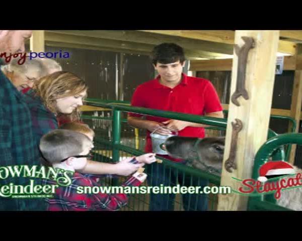 Snowman's Reindeer Farm Staycation
