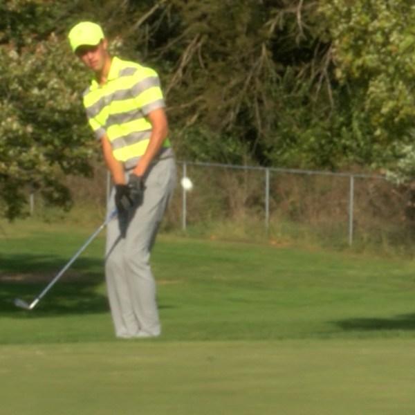 U-High golfer Dallas Koth at State