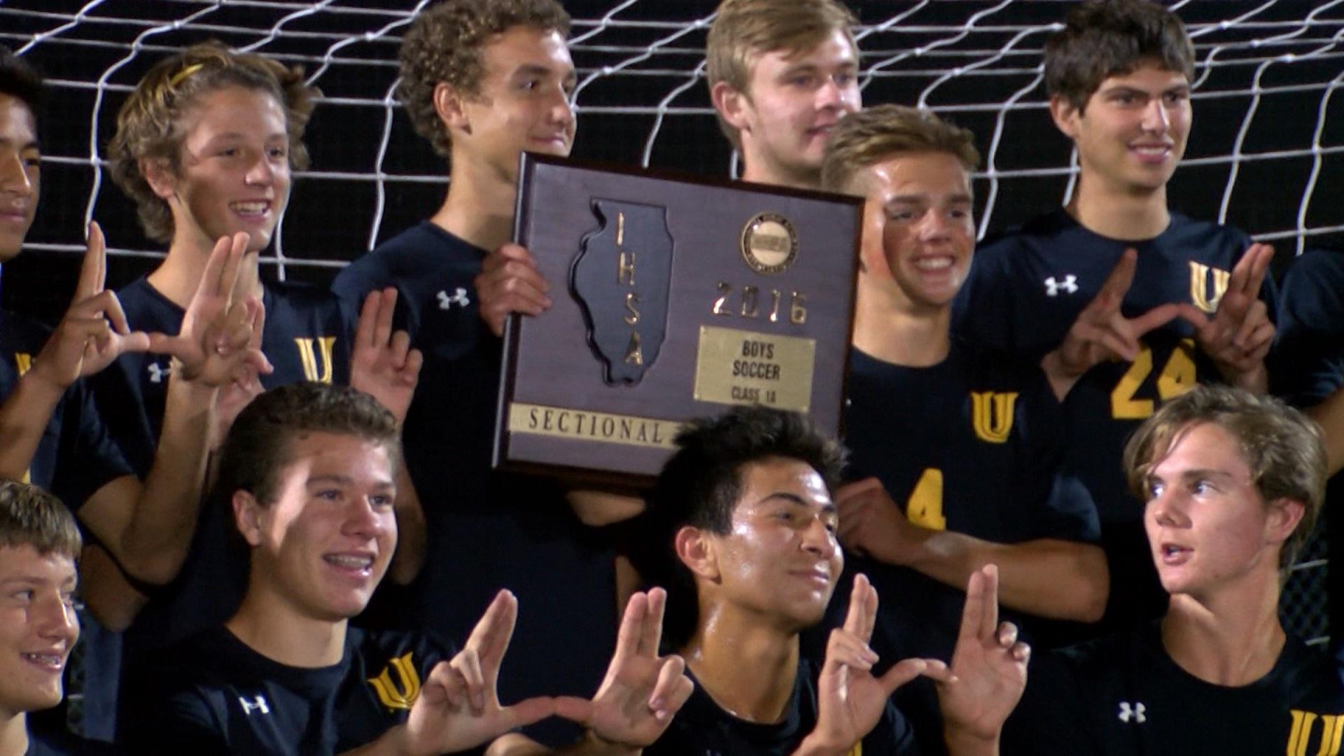 U-High wins soccer sectional