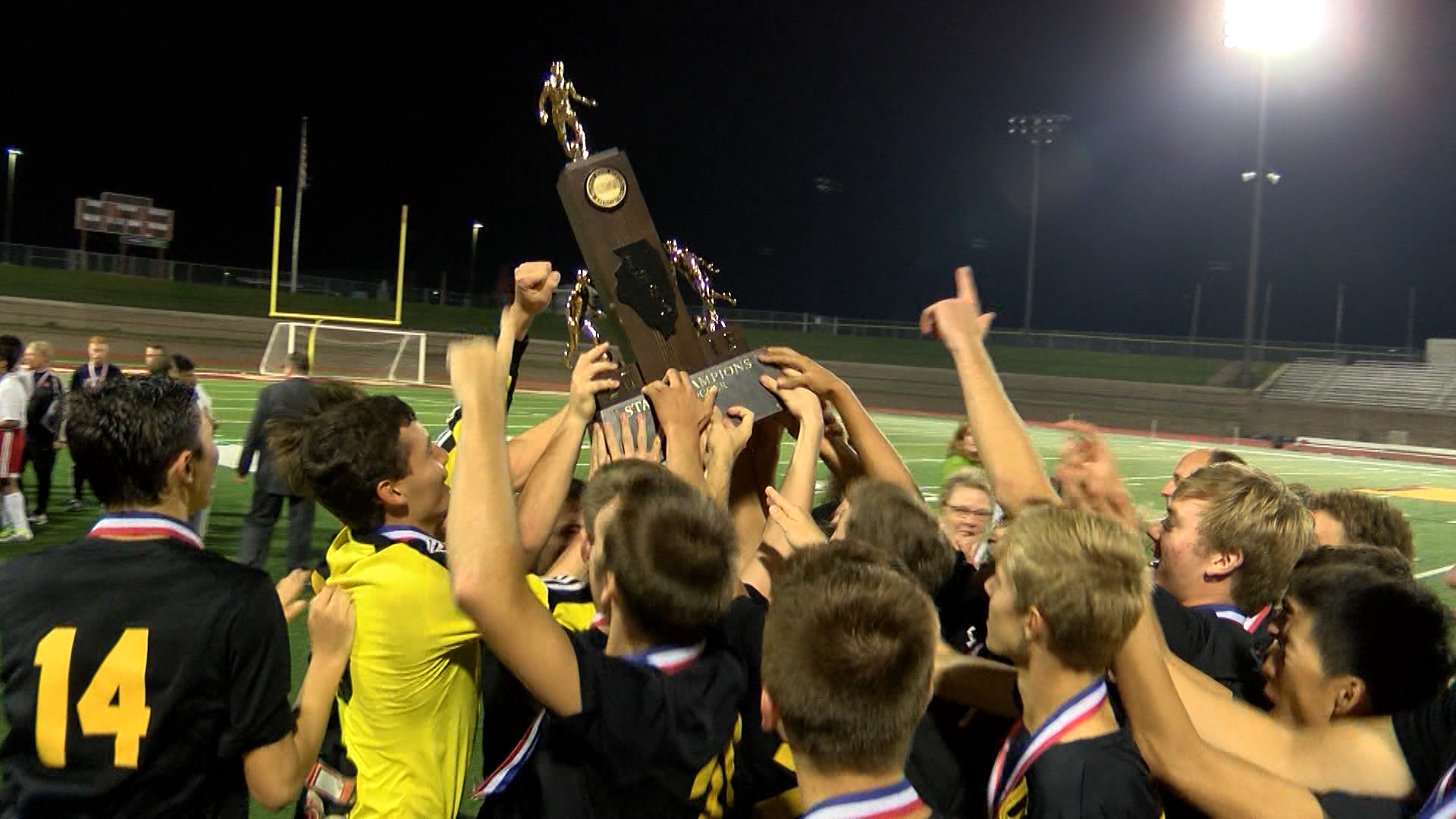 U-High soccer wins state title