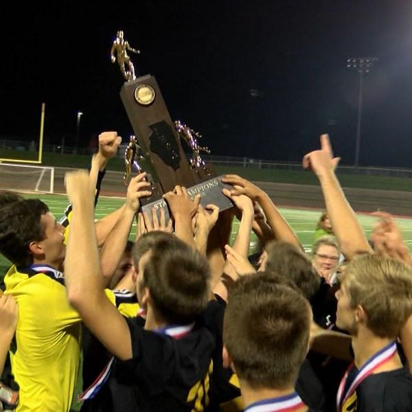 U-High soccer wins state title