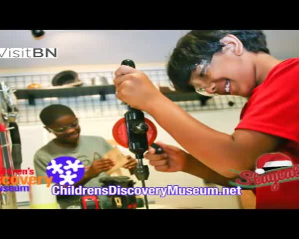 Children's Discovery Museum Staycation