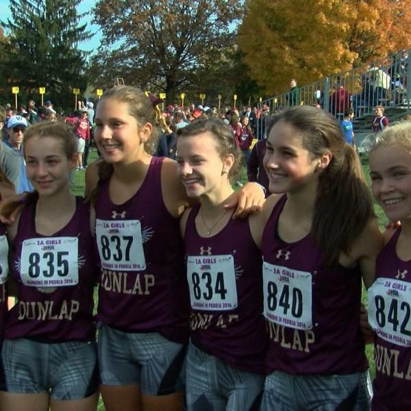 Dunlap girls XC takes second