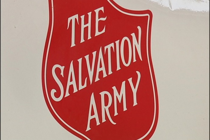 Salvation Army Halfway To Red Kettle Goal_-8496199343598844947