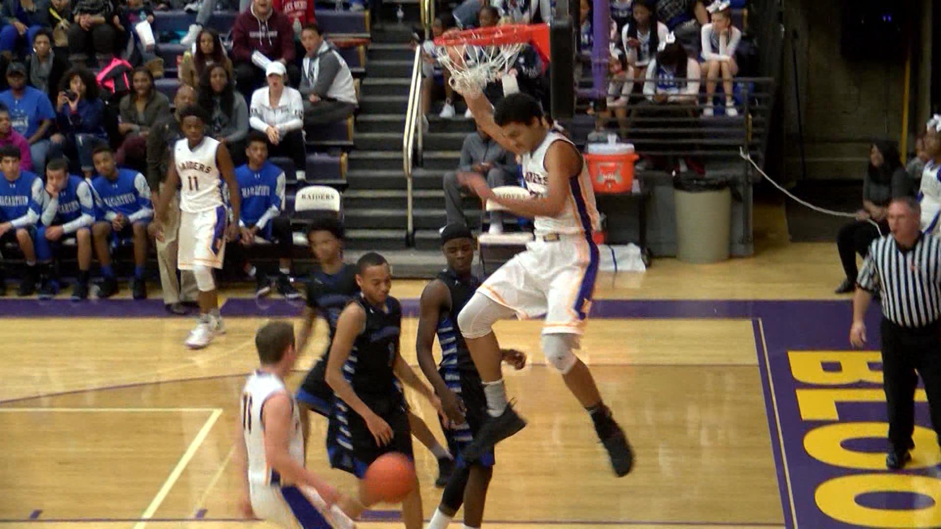 Bloomington sophomore big man Chris Payton