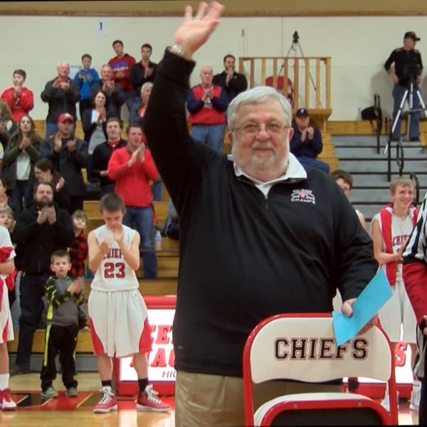 Dee-Mack honors scoreboard operator Joe England