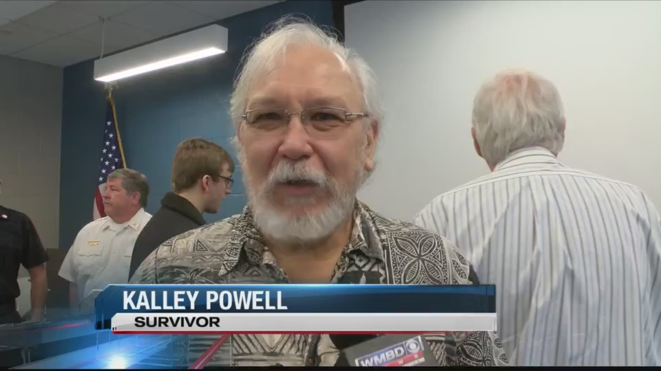 Kalley Powell Rewards His Heroes