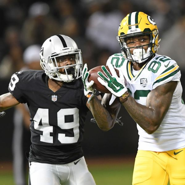 Packers J'Mon Moore vs Oakland