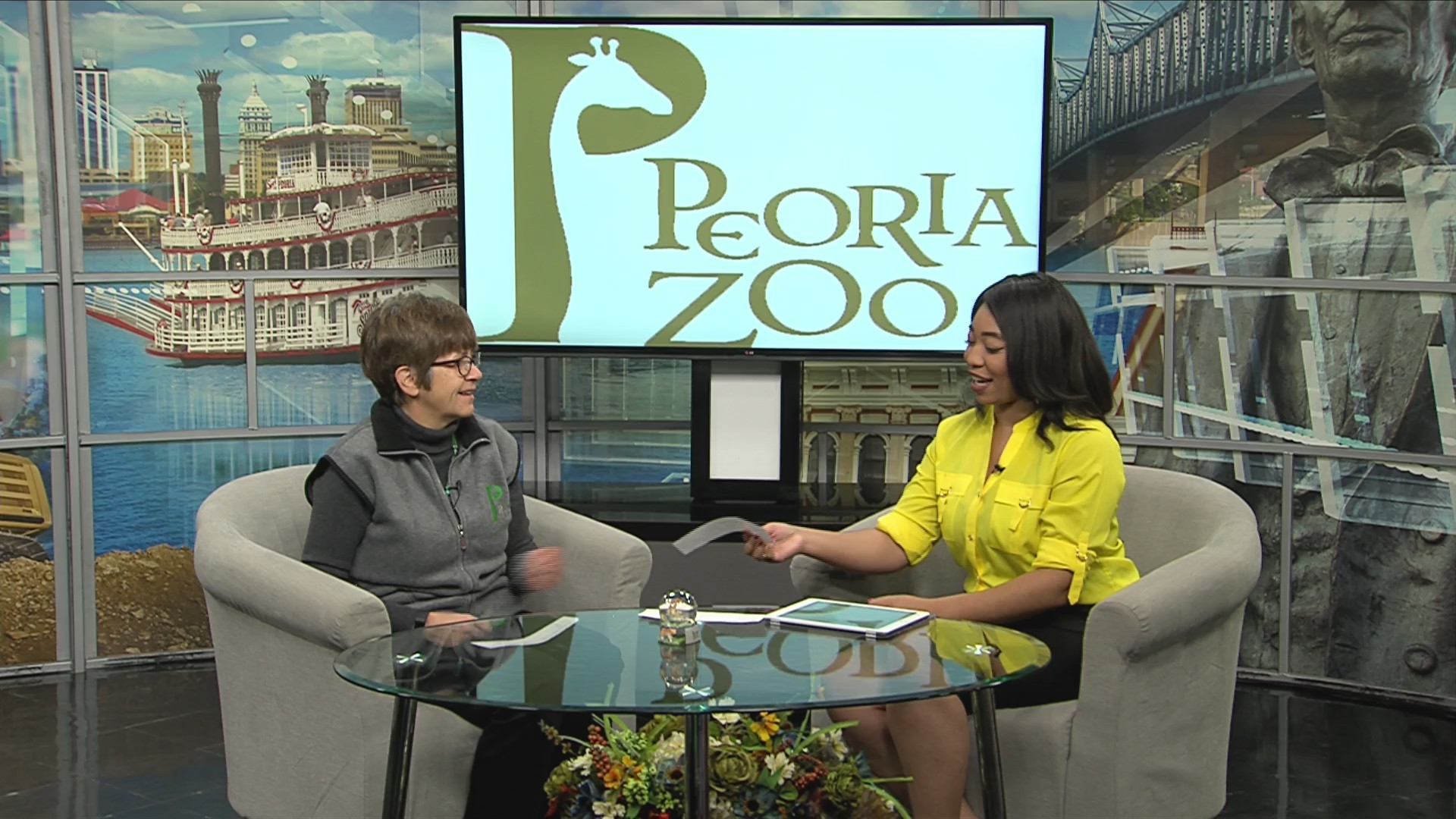 Winter at the Peoria Zoo