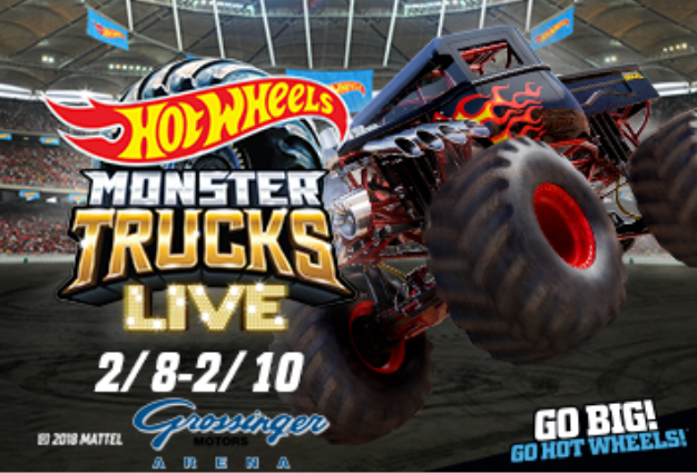 Hot Wheels Monster Trucks Live To Come To Bloomington Next Year