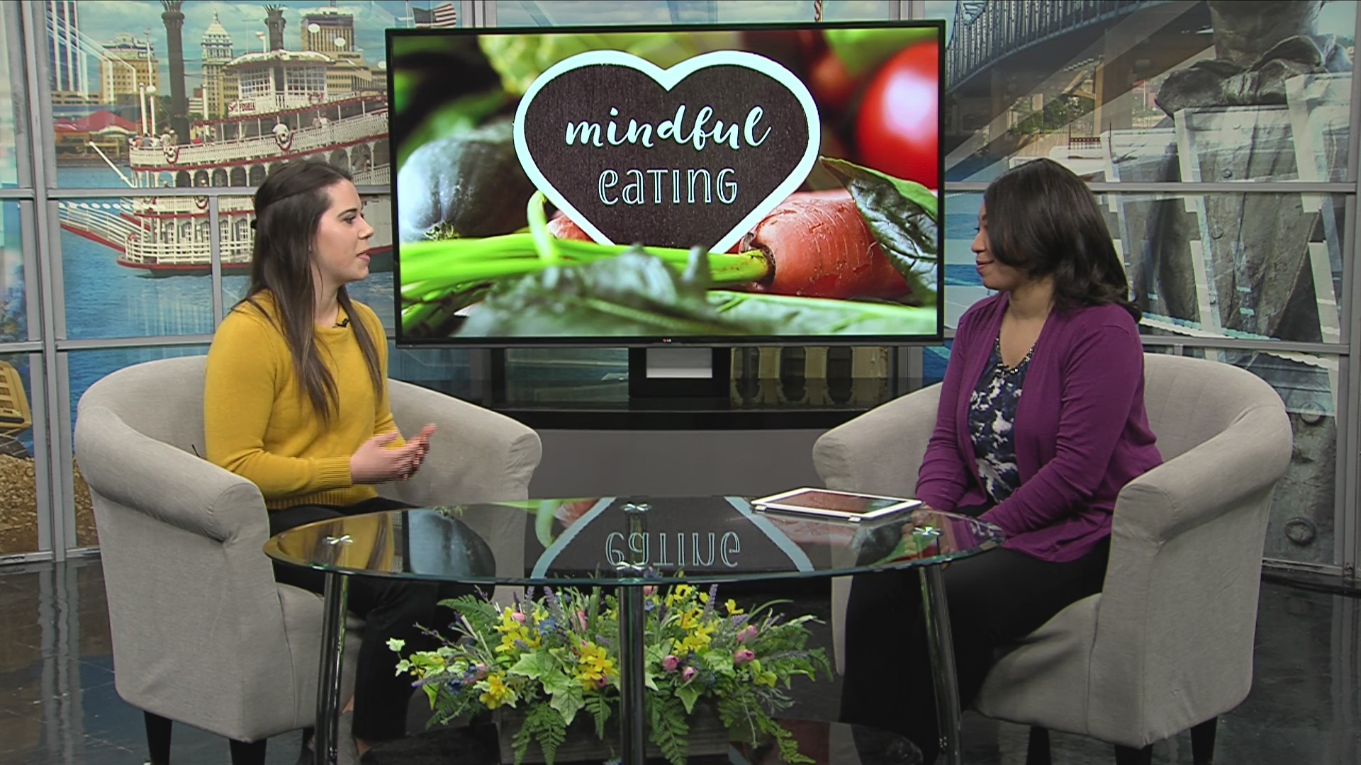 Mindful eating tips with Jessica Bahling