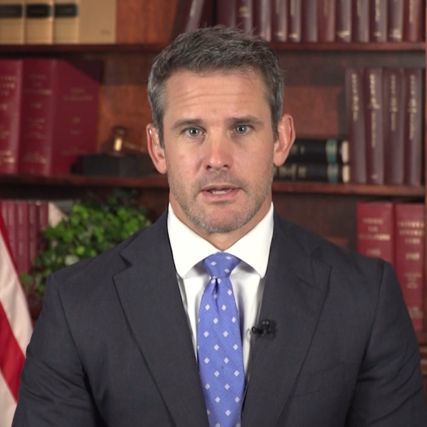 Rep. Kinzinger interview