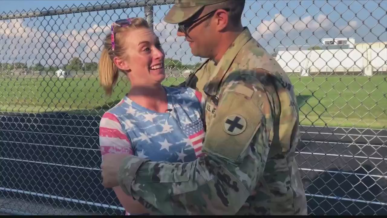 American heroes prepare for deployment, Central Illinois