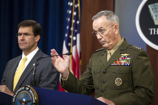 Joseph Dunford, Mark Esper