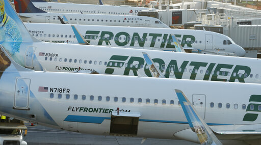 Frontier Airlines, r m
