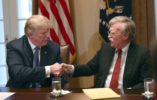 Donald Trump, John Bolton