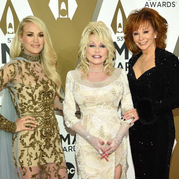 Carrie Underwood, Dolly Parton, Reba McEntire