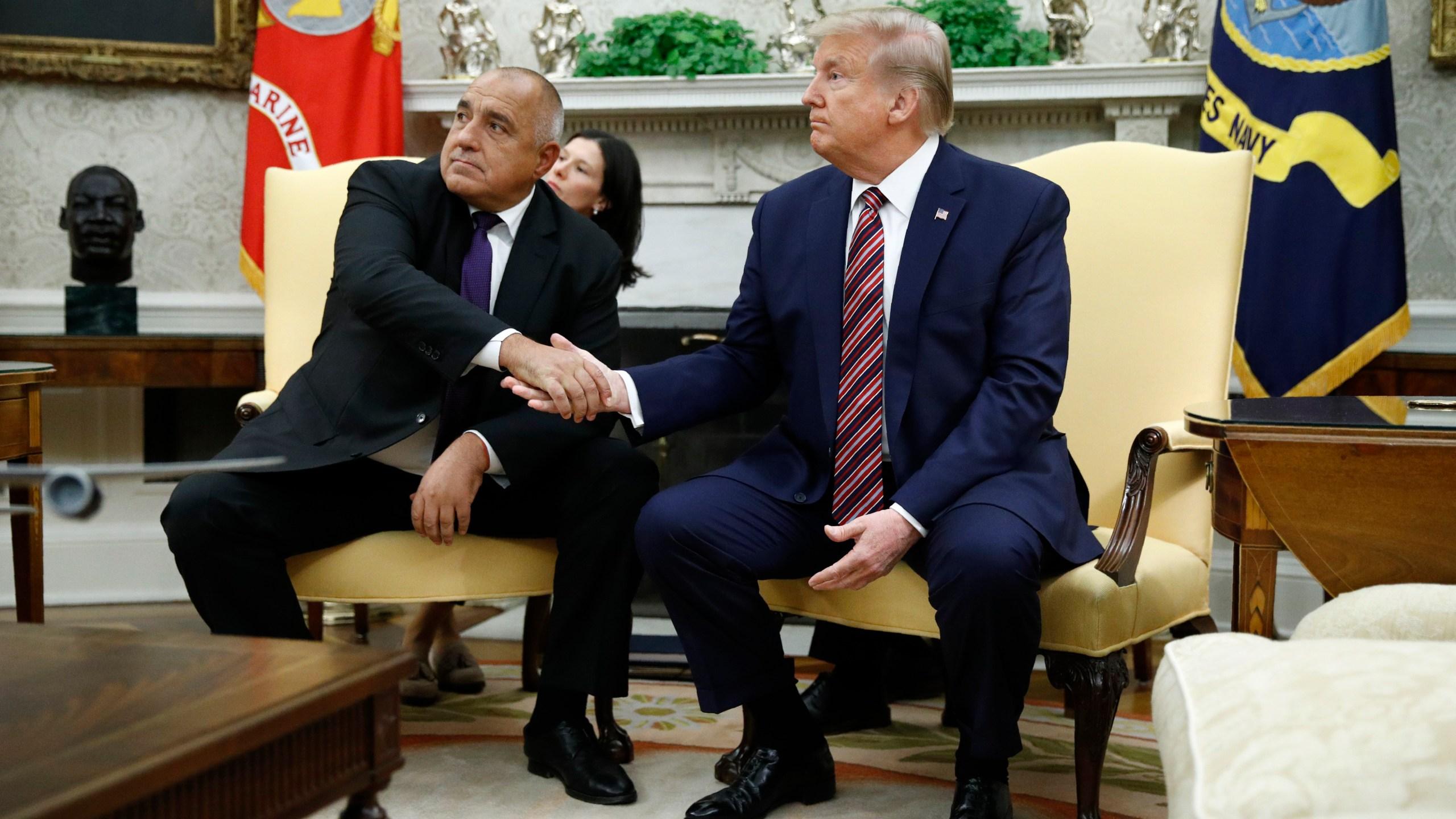 Donald Trump, Boyko Borissov