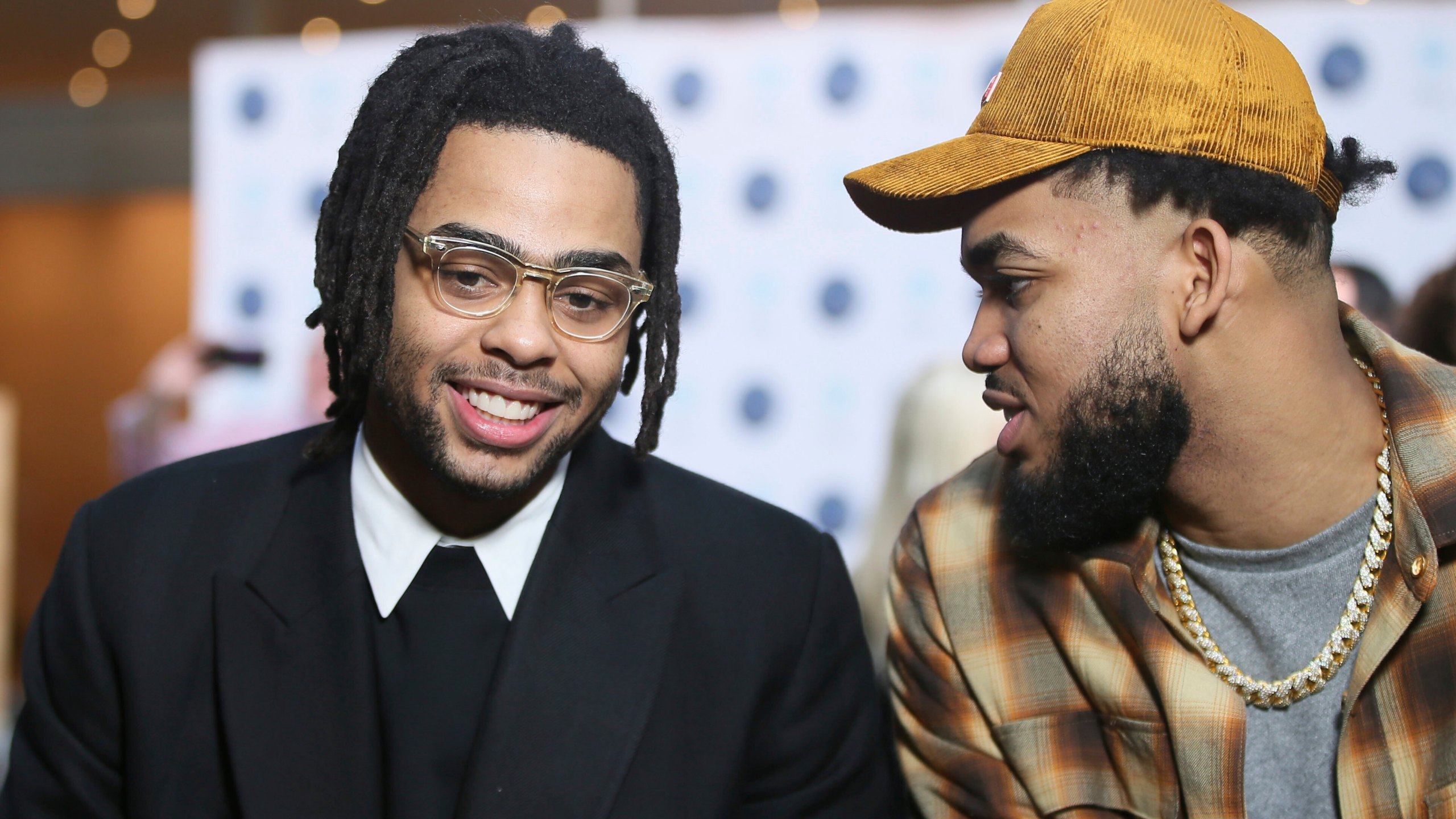 D'Angelo Russell, Karl-AnthonyTowns