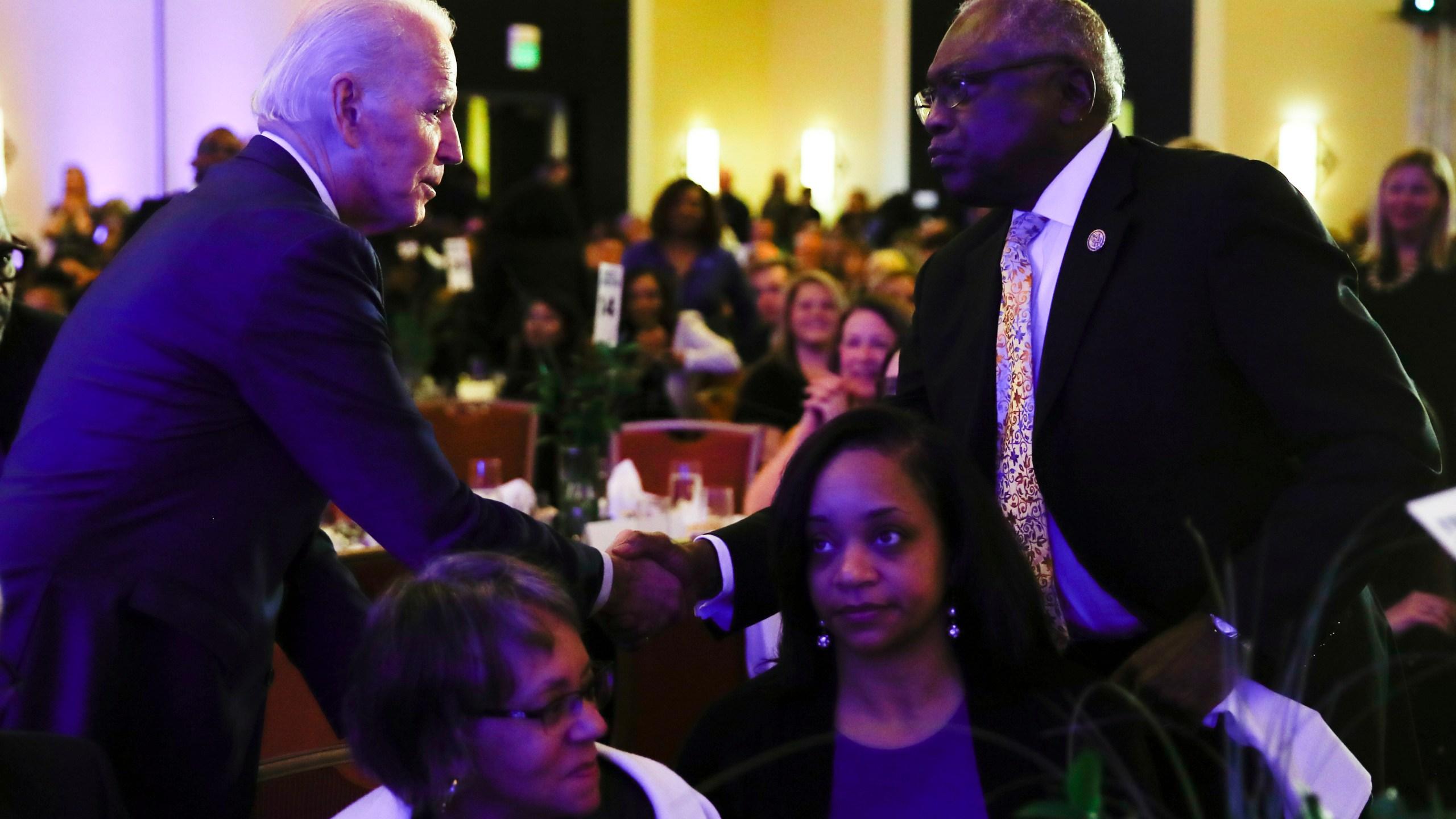 Joe Biden, James Clyburn