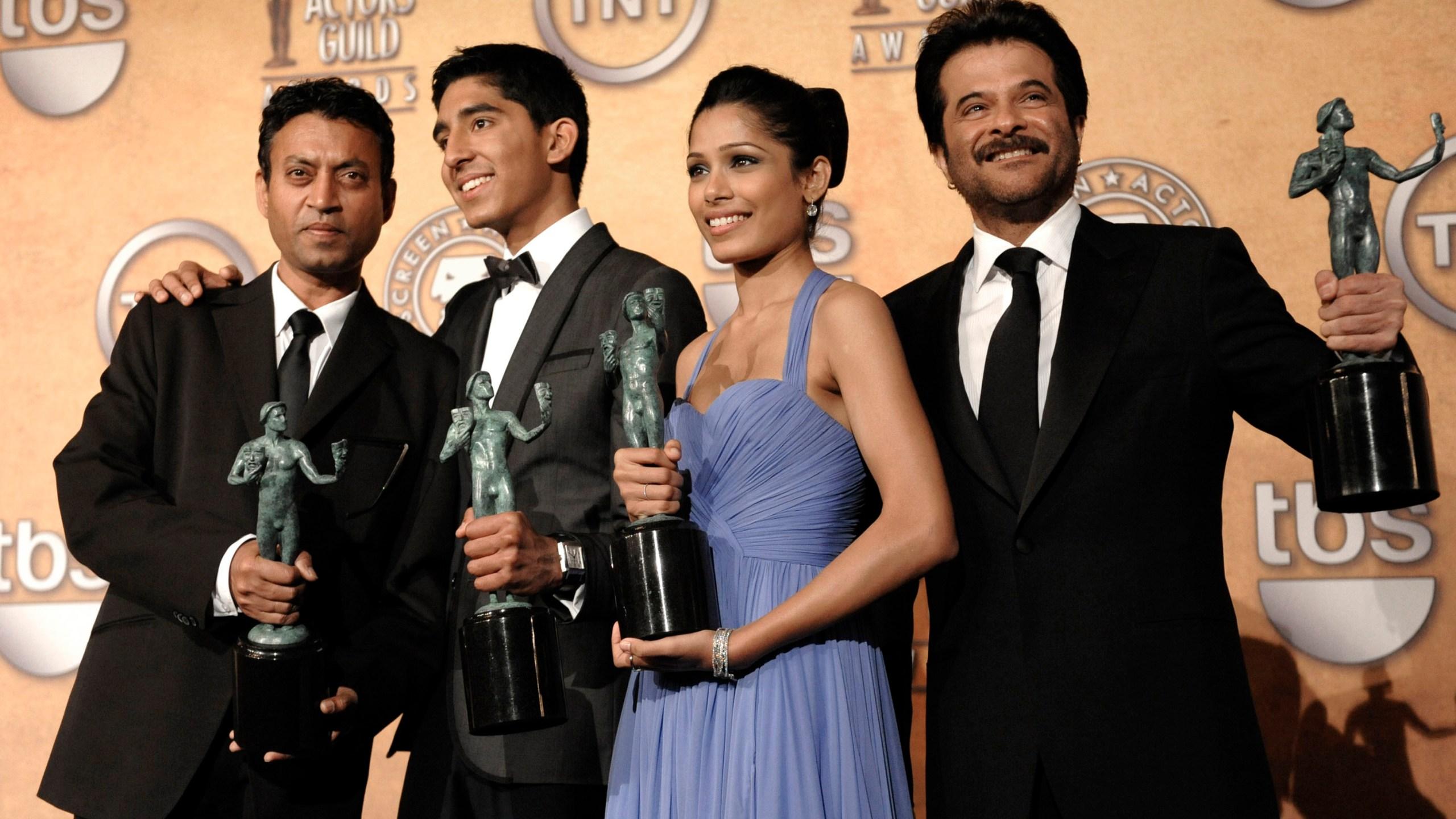 Irrfan Khan, Dev Patel, Freida Pinto, Anil Kapoor.