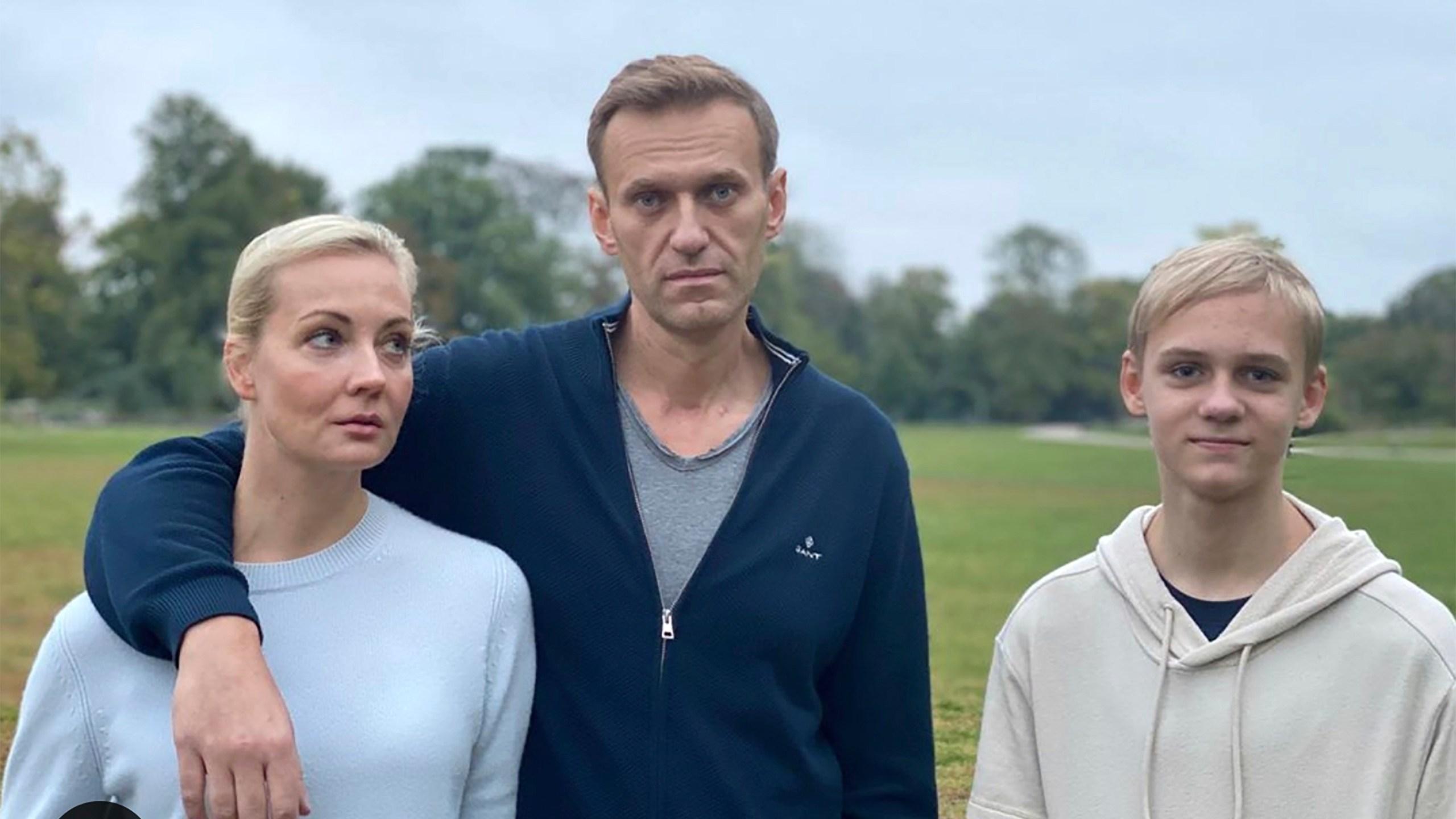Alexei Navalny, Yulia, Zahar Navalny