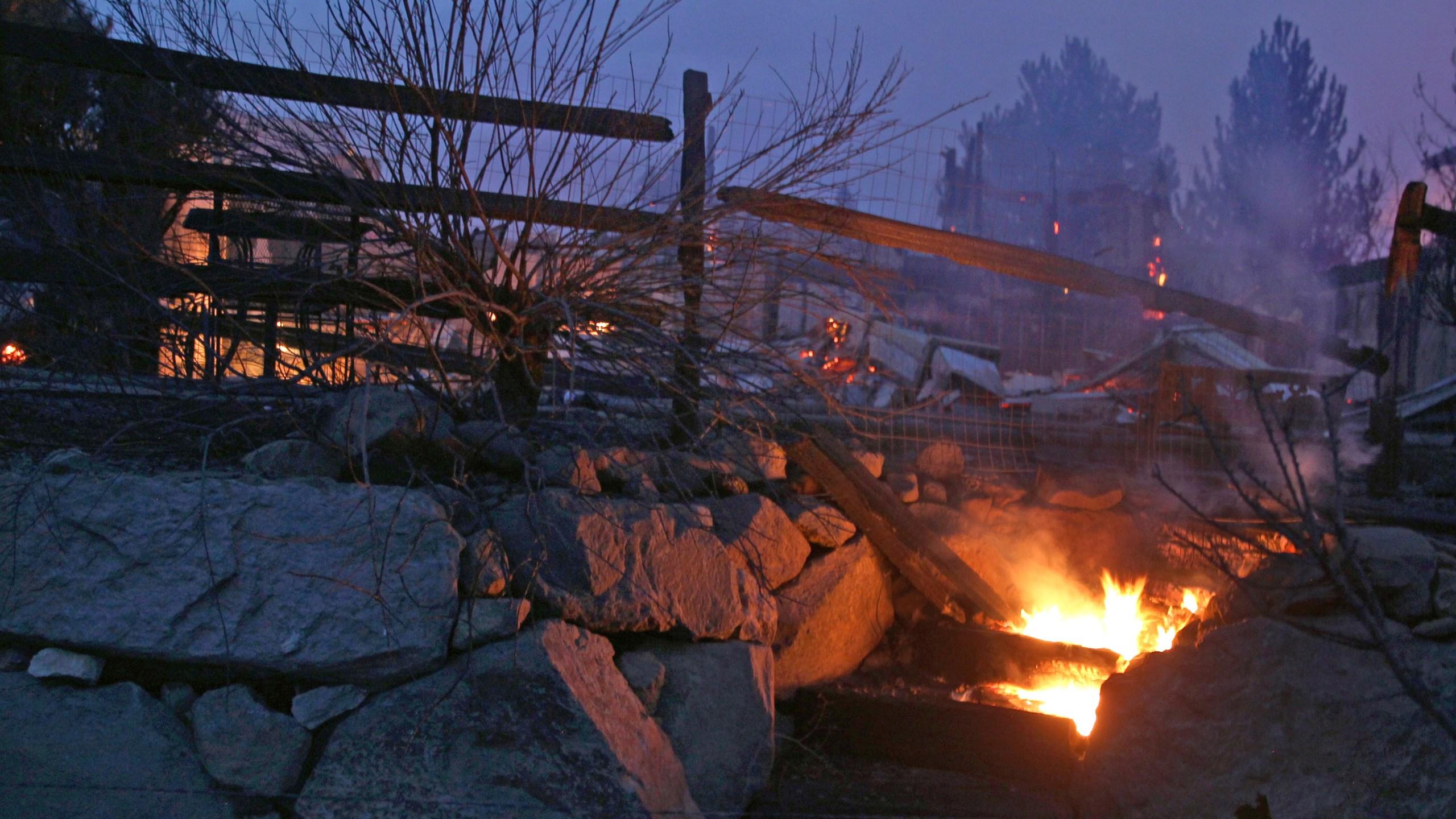 BC-NV--Nevada Wildfires