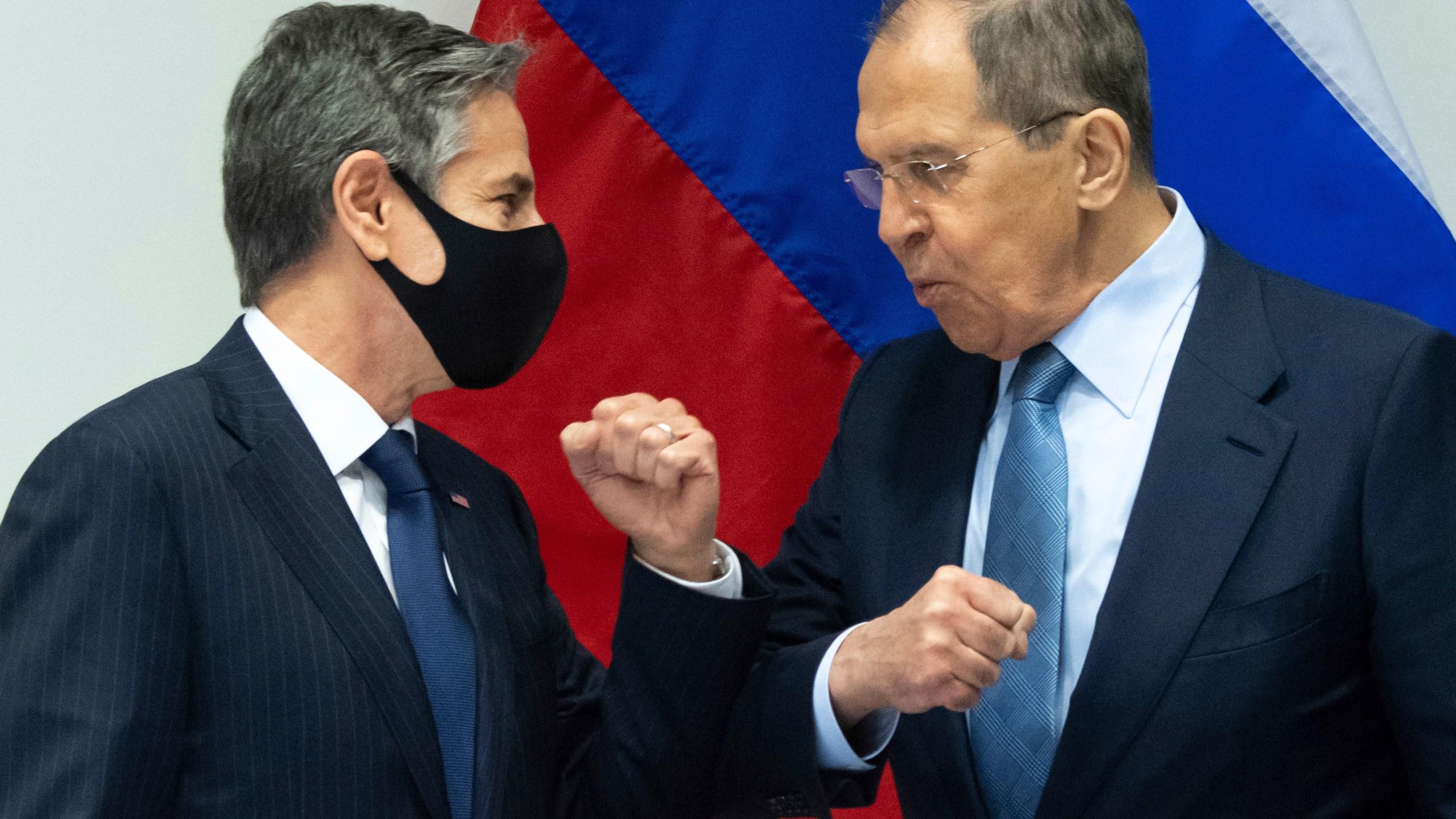 Sergey Lavrov, Antony Blinken