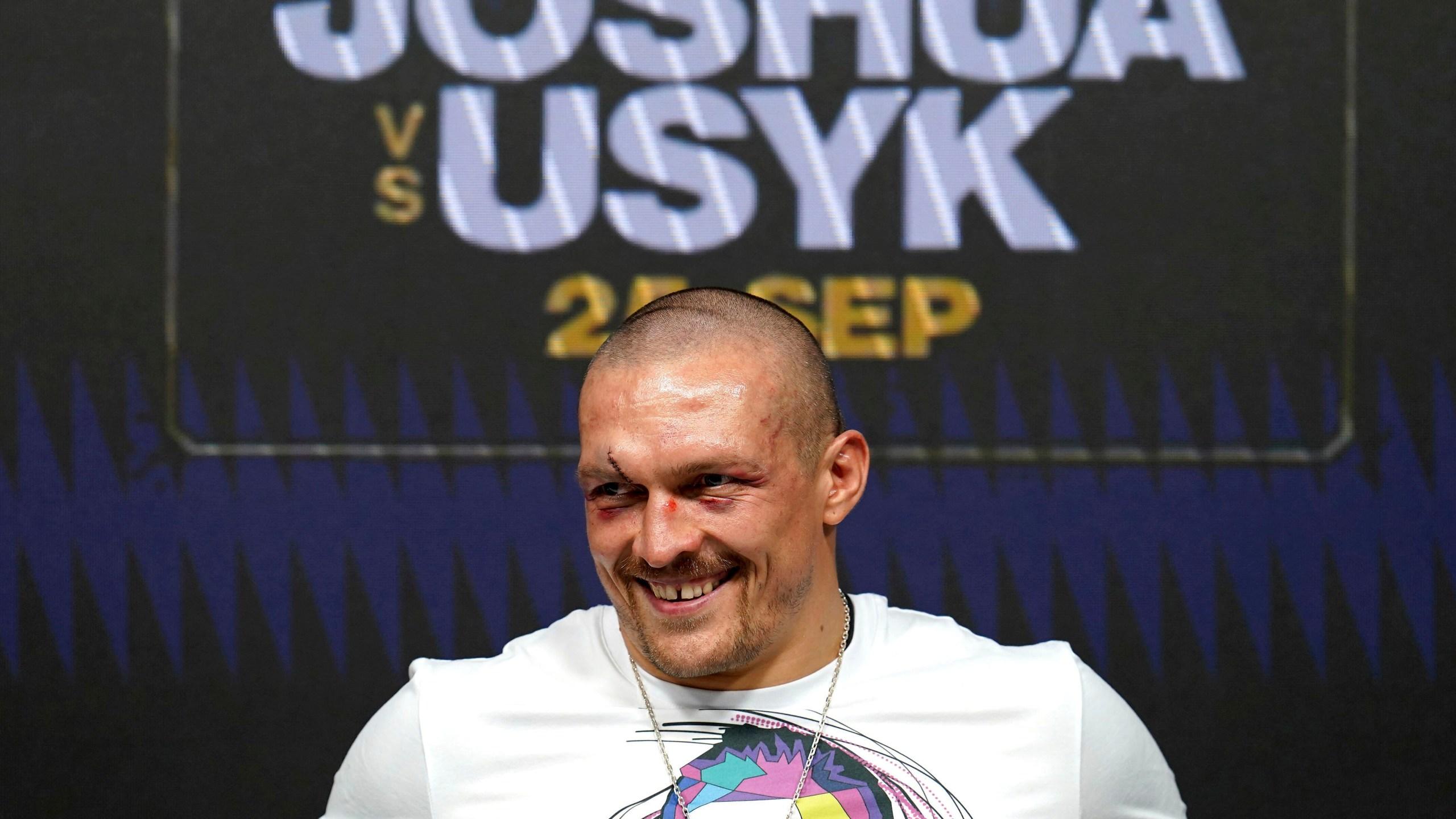 Oleksandr Usyk, Anthony Joshua v Oleksandr Usyk - Tottenham Hotspur Stadium